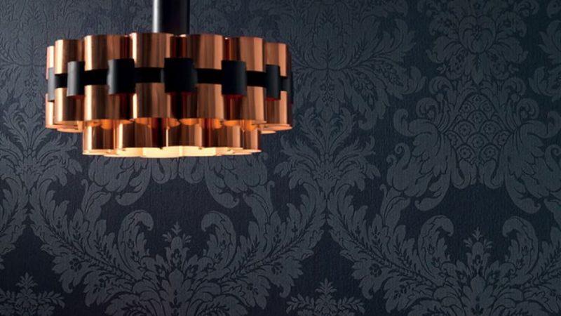La décoration avec des papiers peints textiles